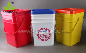 1-30L and 20L Square Cheap Plastic Bucket Supplier pictures & photos