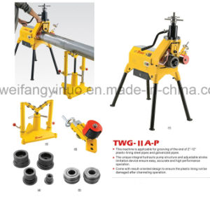 High Quality Grooving Machine for Grooved Pipe Fittings and Pipes pictures & photos
