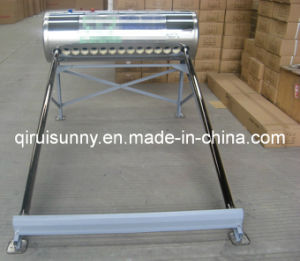 Stainless Steel Vacuum Tube Solar Water Heater with CE pictures & photos