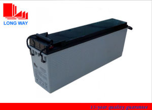12V110ah Front Accress Battery for Solar System pictures & photos
