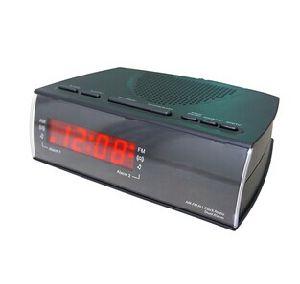 Pll Am/FM LED Alarm Clock Radio Receiver