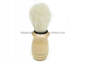 Shave Brush with Wood Base Ly-V002