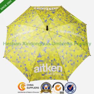 Automatic Promotional Fiberglass Straight Umbrella for Full Digital Printing (SU-1423BF) pictures & photos