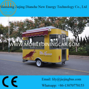 Multi-Functional Mobile Food Cart for Sale pictures & photos