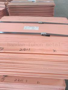 Sale Copper Cathodes 99.99% Purity in Copper Hot Sale Copper Cathode 99.99 Grade a pictures & photos