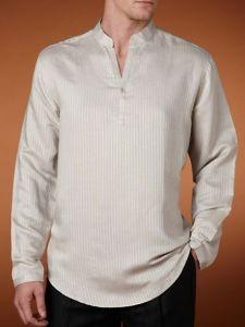 Elegant Guayabera Shirt for Men of Long Sleeve pictures & photos