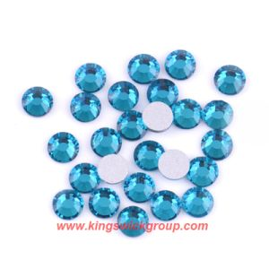 Wholesale Ss4 Blue Zircon Non Hot Fix Rhinestone Nail Art Decorations pictures & photos