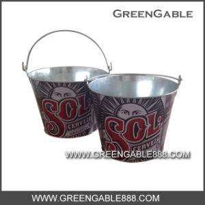 Galvanized Metal Ice Bucket (IBG-001) pictures & photos