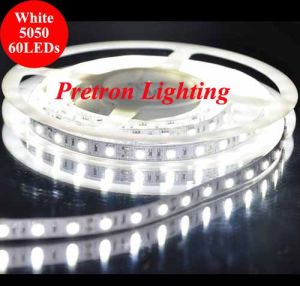 Hight Quality 5m Non-Waterproof White 5050 SMD Flexible LED Strip Light