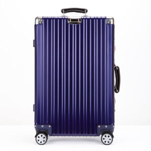 Aluminium Luggage with Blue Color pictures & photos