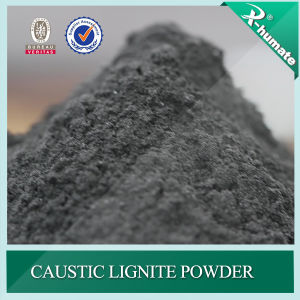 90%Min Caustic Lignite Powder for Oil Drilling Mud Additive pictures & photos