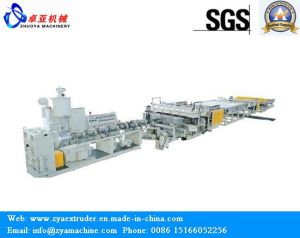 Plastic Hollow Sheet Machine for PP PE PC Hollow Sheet pictures & photos