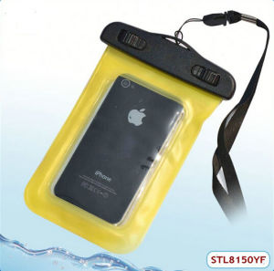 Fast Delivery Waterproof Bag with Belt for iPhone4/4s
