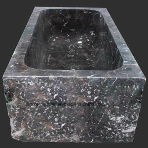 Classical Natural Stone Granite Marble Hot Tub Bathtub for Bathroom pictures & photos