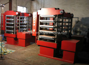 High Quality China Rubber Flooring Tile Making Machine pictures & photos