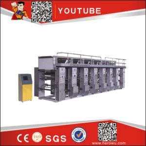 Plastic Film and Roll Gravure Printer Machinery pictures & photos