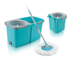 Twins Bucket Spin Mop pictures & photos