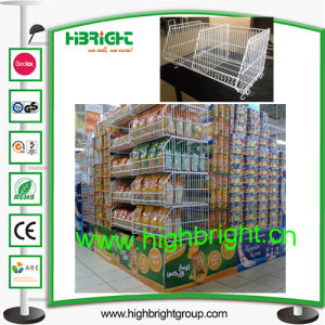 Metal Wire Mesh Storage Rack for Promotion pictures & photos