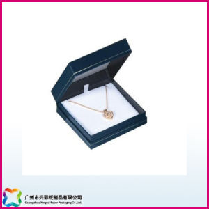 Luxury Display Gift Packaging PU Leather Necklace/Jewelry Box (XC-1-007) pictures & photos