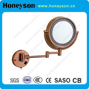 Extendable Magnification Mirror with LED for Hotel Bathroom pictures & photos