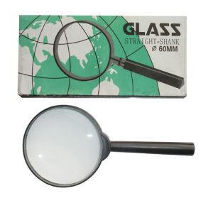 Magnifier Glass, Round Glass, Laboratory Magnifier Glass (Size: 60/70/90mm) pictures & photos