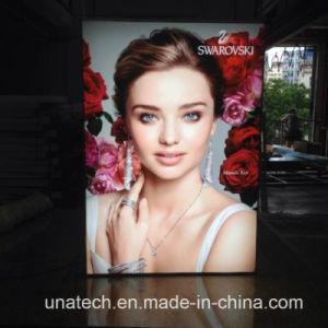 Flex Banner Printing Wall Mount Indoor Outdoor Slim LED Light Box Billboard pictures & photos