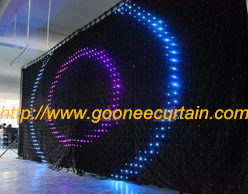 New Popular Curtain Light LED Display Curtain