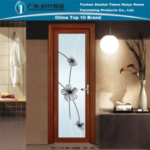 Sanded Thai Pomelo Surface Aluminium Casement Doors for Bathroom pictures & photos