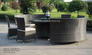 Outdoor Wicker Beatiful Rattan Garden Sofa pictures & photos