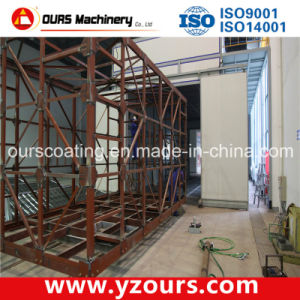 2014 New Style Powder Coating Line for Aluminum Profiles pictures & photos