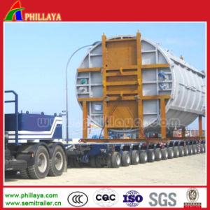 Low Bed Modular Heavy Truck Trailer with Axles Opptional pictures & photos