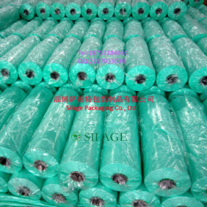Round Bales Green Silage Wrap Film for Canada pictures & photos
