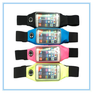Running LED Flashing Waterproof iPhone Waist Bags pictures & photos