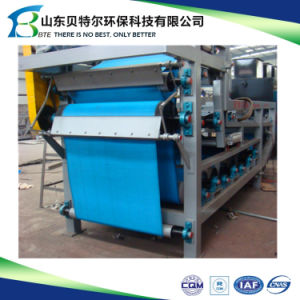 Large Capacity Belt Filter Press Dewatering in Sewage Treatment pictures & photos