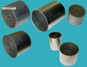 Metal Honeycomb Substrate Catalyst Used for Car/Motorcycle pictures & photos