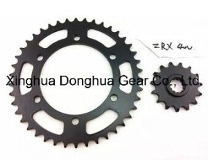 Motorcycle ATV Dirt Bike Renthal Front Rear Sprocket 525 Chain Series Front Countershaft Sprocket Chain for Kawasaki Zrx 400 pictures & photos