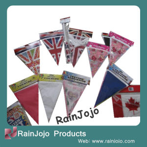 Plastic Printed National Flag/ Canada Flag/ Hanging String Flag pictures & photos