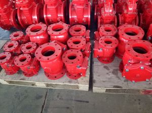 UL/FM 300psi Flanged End Swing Check Valve Xqh-300 pictures & photos