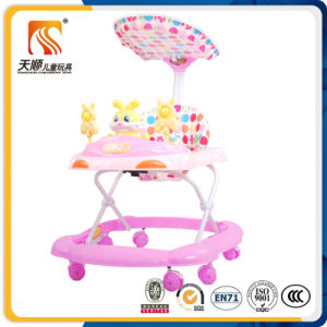 China Wholesale Plastic Good Outdoor Baby Walker with Canopy pictures & photos