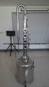 Stainless Steel Vodka Alcohol Distiller with Tower pictures & photos