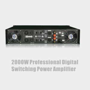 2000W Professional Digital Switching Power Amplifier pictures & photos