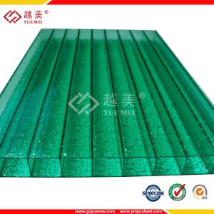 4mm Crystal or Frosted Anti-Fog Twin &Multi Wall Hollow Polycarbonate Sheet (YM-PC-188) pictures & photos