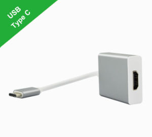 USB 3.1 Type-C to HDMI Female HD Video Adapter pictures & photos