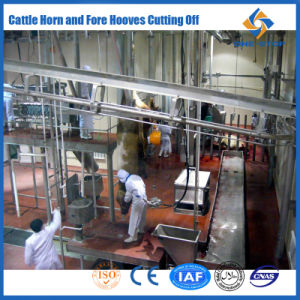 Cattle Carcass Lifting Machine Islamic Halal Abattoir Equipment pictures & photos