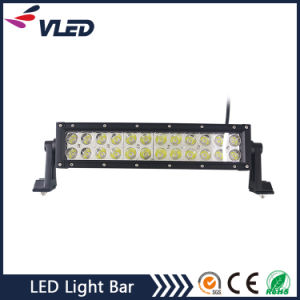 Spot/Flood/Combo Beam 12/24V 13.6inch 72W Curved LED Bar for Jeep pictures & photos