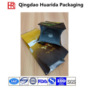 Stand up Plastic FDA-Grade Coffee/Coffee Beans Bag with Zipper pictures & photos