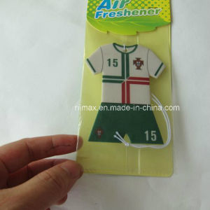 Promotion T Shirt Paper Car Accessories with Card Header