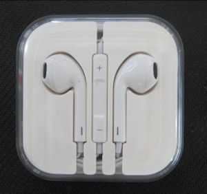 for iPhone 5 Handsfree Earpods with Remote and Mic pictures & photos
