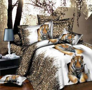 Hunting Leopard 3D Bedding Set pictures & photos