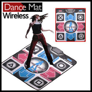 Wireless 32 Bit HD TV Single Dance Pad with 2 Gamepads pictures & photos